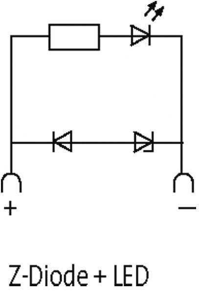 Ventilentstörmodul Bauform CI - 9,4mm