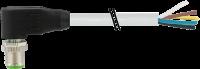 M12 St. gew. mit freiem Leitungsende 7000-19021-3010300