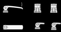 EDELSTAHL-EXZENTERSPANNER, AUFLAGESCH. VERSTELLBAR 927.7-101-M10-A