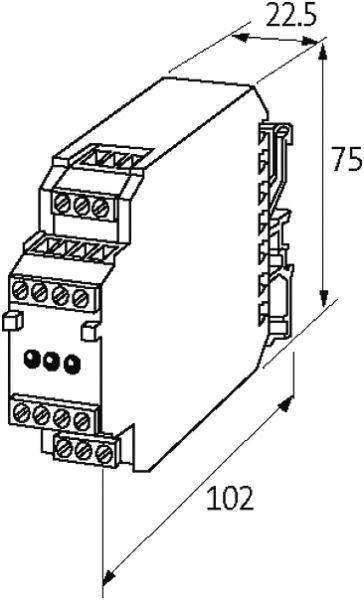 MKN Kleinnetzgerät 1-phasig, längsgeregelt