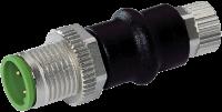 Adapter M12 St. / M8 Bu. 3p., Belegung 1,3,4 7000-42201-0000000