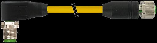 M12 St. 90° / M12 Bu. 0°
