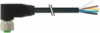 M12 Bu. gew. mit freiem Leitungsende 7000-19061-7050200