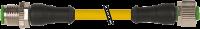 M12 St. ger. auf M12 Bu. ger. 3pol. 7000-40061-0130060