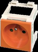 Modlink MSVD Steckdose Frankreich orange 4000-72000-0150000