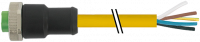 7/8'' (Mini) Bu. 0° freies Ltg.-ende 7700-A3021-U1B0150