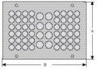 cablequick ® KDP 100/56 Kabeldurchführungsplatte, V4A 87663060