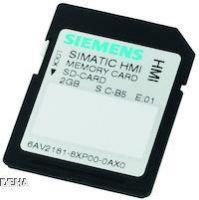 SIMATIC HMI Memory Card SD-Karte 2 GB für SIMATIC HMI COMFORT Panel 6AV2181-8XP00-0AX0
