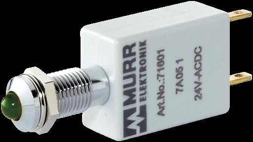 LED-Anzeige grün 230V AC/DC IP67