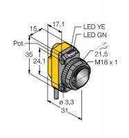 QS18VP6LV/W30 3061638