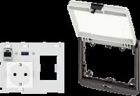 Modlink MSDD-Set: Einbaurahmen 4000-68524-0000001, 4000-68524-4303001