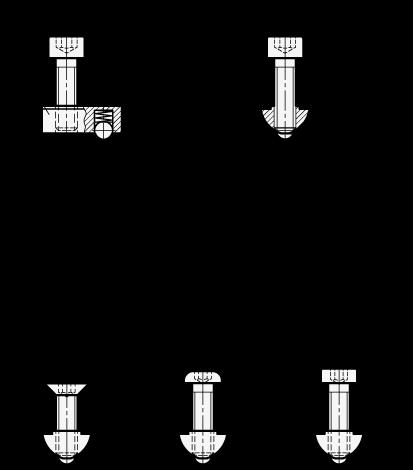 form 965-b  MONTAGESET FÜR PROFILSYSTEME (11er PROFIL) von Otto Ganter  Herstellernummer: 11-11-M11-11-A