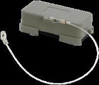 A10 Schutzkappe (Kunststoff/Längsverriegelung) 70MH-ZSBKL-A000000