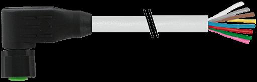 M12 Lite Bu. gew. mit freiem Leitungsende