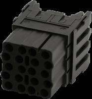 Buchsenmodul, 20-polig, Crimp 70MH-MAC1C-0200502