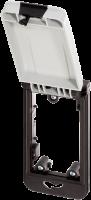 Modlink MSDD Einbaurahmen 1-fach grau 4000-68514-0000003