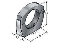 SH M40/M50-M Systemhalter Metallverschluss 83691501