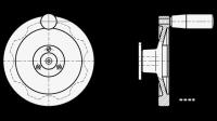 SICHERHEITS-HANDRAD, M.FESTSTEH.LAGERFL. 327-160-K14-A-2