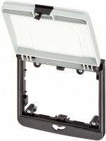 Modlink MSDD Einbaurahmen 2-fach grau 4000-68524-0000001