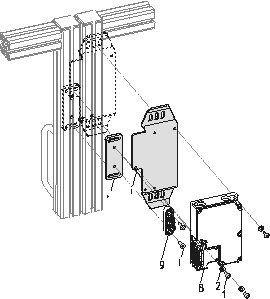 Montagesatz für Sicherheitszuhaltung von Schmersal