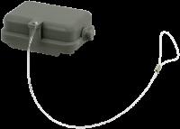 B6 Schutzkappe (Kunststoff/Längsverriegelung) 70MH-ZSDKL-A000000