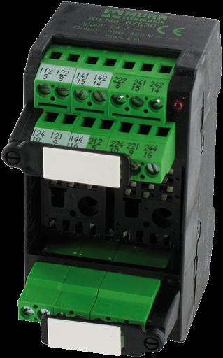 MKS-K24M/LED24 VDC Relaissockelbaustein