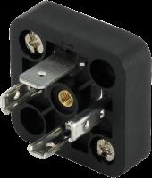 Ventilsteckersockel 18mm, 3+PE 7000-99205-0000000