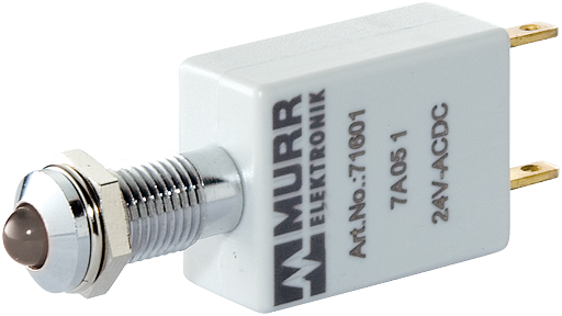 LED-Anzeige 24V DC Lampentest weiß