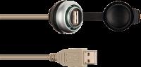 MSDD Einbaudose USB 3.0 BF A, 5.0 m Kabelverlängerung 4000-73000-0240000