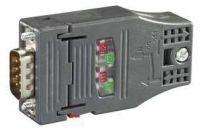 PROFIBUS FC RS 485 Plug 180, PB-Stecker mit FASTCONNECT ANSCHLUSST. und axialem 6GK1500-0FC10
