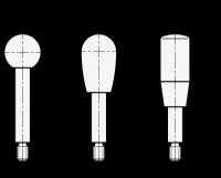 EDELSTAHL-GRIFFSTANGE 310-10-100-A-NI