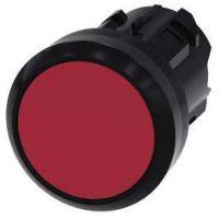Drucktaster, 22mm, rund, rot, Druckknopf 3SU1000-0AB20-0AA0