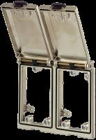 Modlink MSDD Einbaurahmen 2-fach Metall 4000-68123-0000000