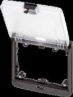 Modlink MSDD Einbaurahmen 2-fach transparent 4000-68522-0000003