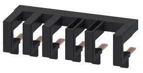 Verdrahtungsbaustein oben für Schützkomb. S0 ohne Abstand zwischen den